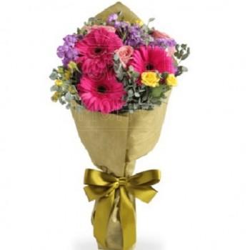 Ramo de Gerberas y Rosas